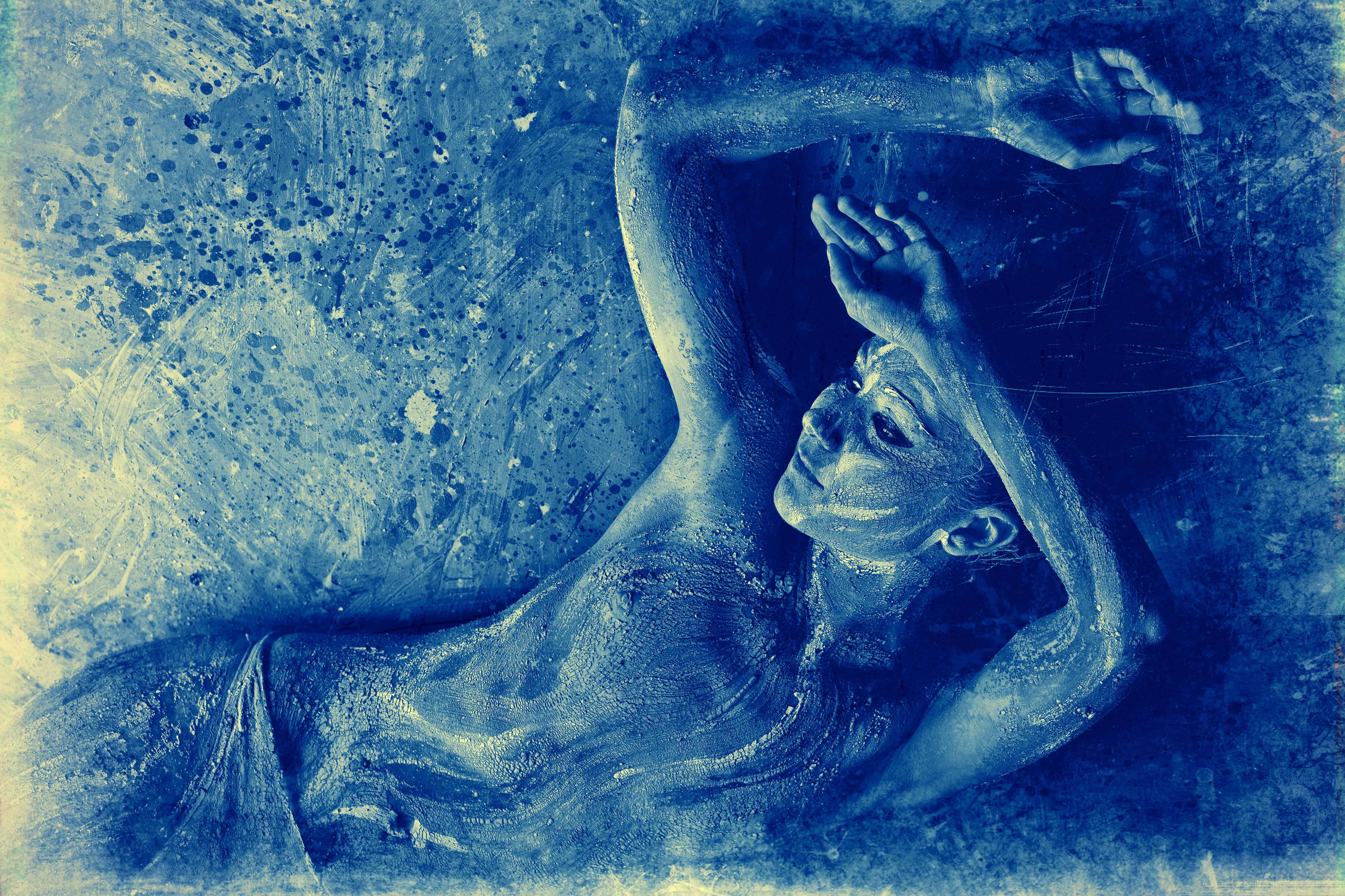 Body Art Clay Painting